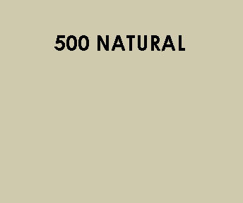 500 Natural Sample Colour