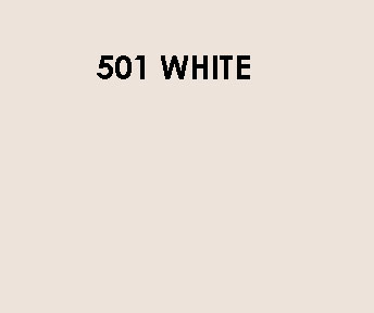 501 White Sample Colour