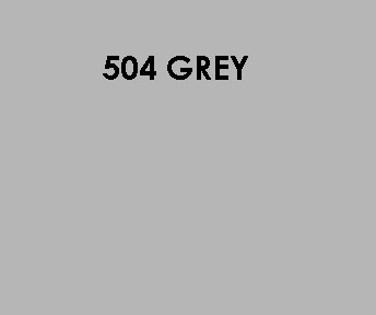 504 Grey Sample Colour