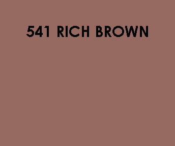 541 Rich Brown Sample Colour