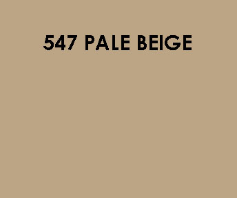 547 Pale Beige Sample Colour