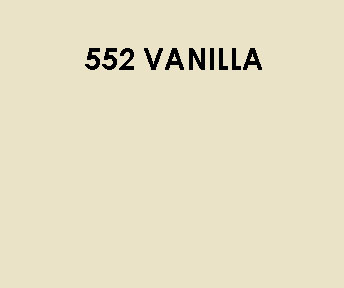 552 Vanilla Sample Colour